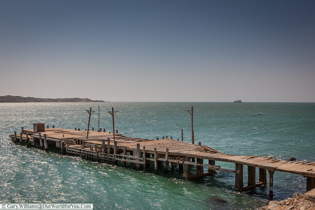 A jetty in need of attention,Lüderitz, Namibia