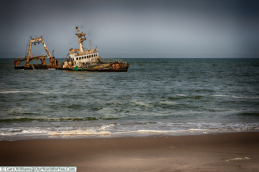 Another victim of the skeleton coast, Swakopmund, Namibia