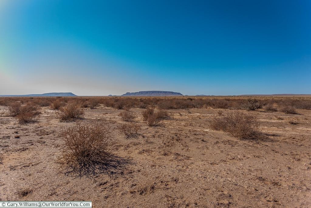 The barren landscape, Fish River Canyon, Namibia