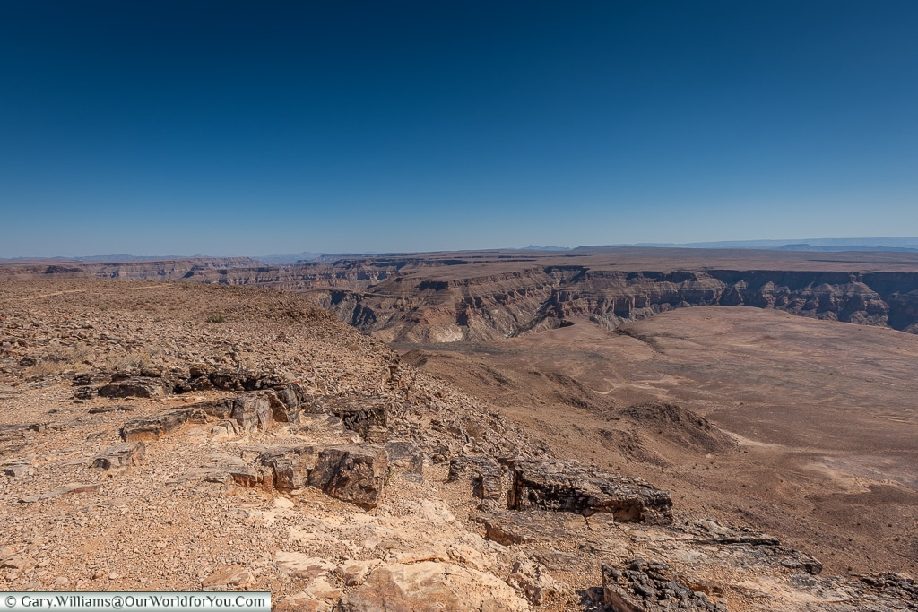 The vast canyon, Fish River Canyon, Namibia