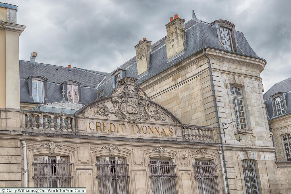 Credit Lyonnais, Troyes, Champagne, Grand Est, France