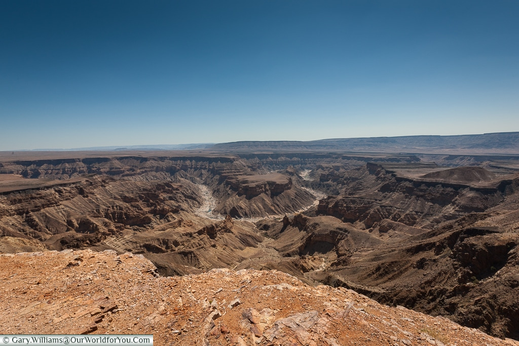 Hell's Bend, Fish River Canyon, Namibia