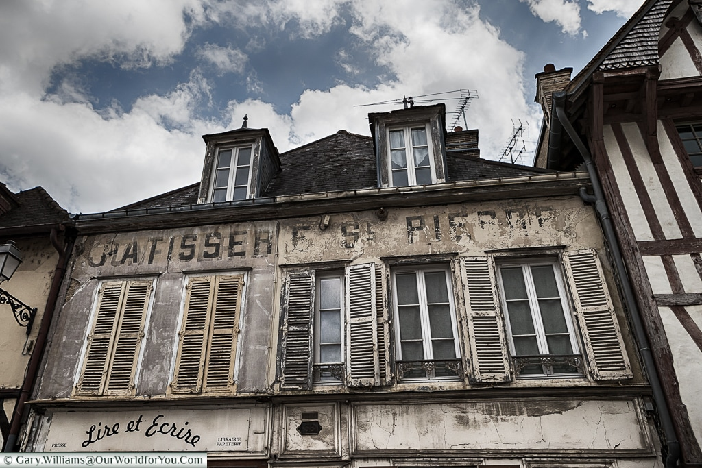 An old building, Troyes, Champagne, Grand Est, France
