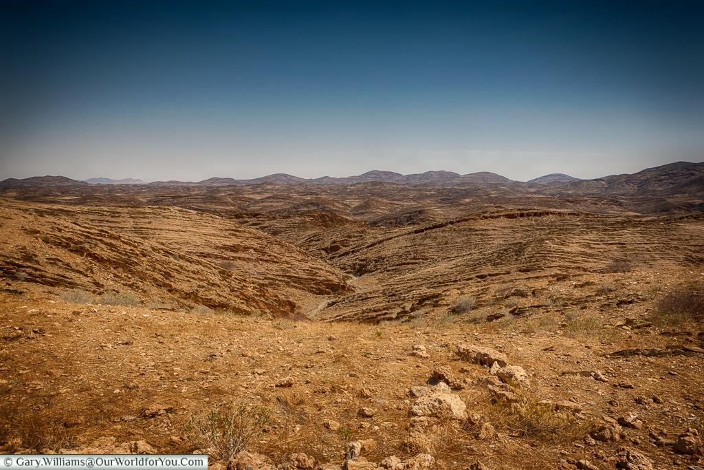 The road to Swakopmund, Namibia