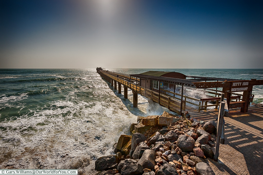 The pier, Swakopmund, Namibia