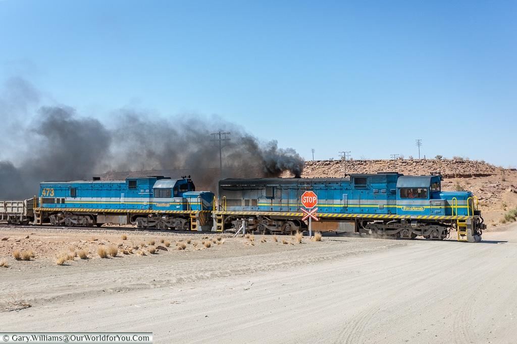 The Trans-Namib Railway, Fish River Canyon, Namibia
