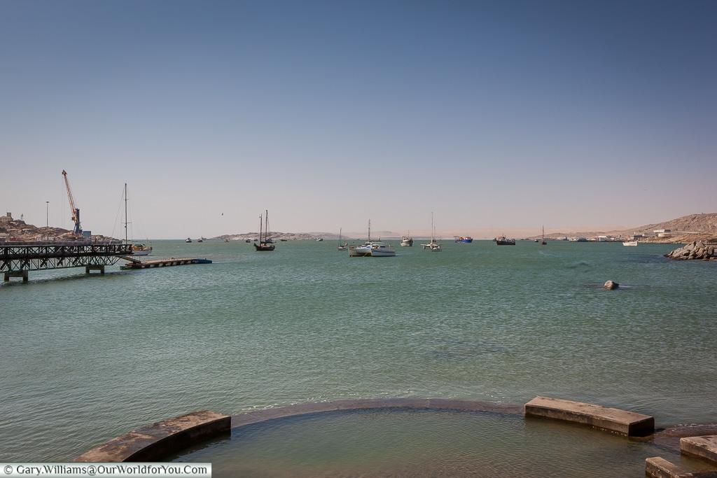 The marina ,Lüderitz, Namibia