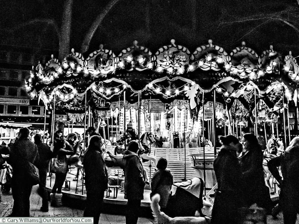 The carousel at the Christmas Markets, Cologne, Germany