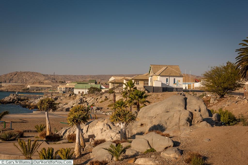 The coastal town, Lüderitz, Namibia