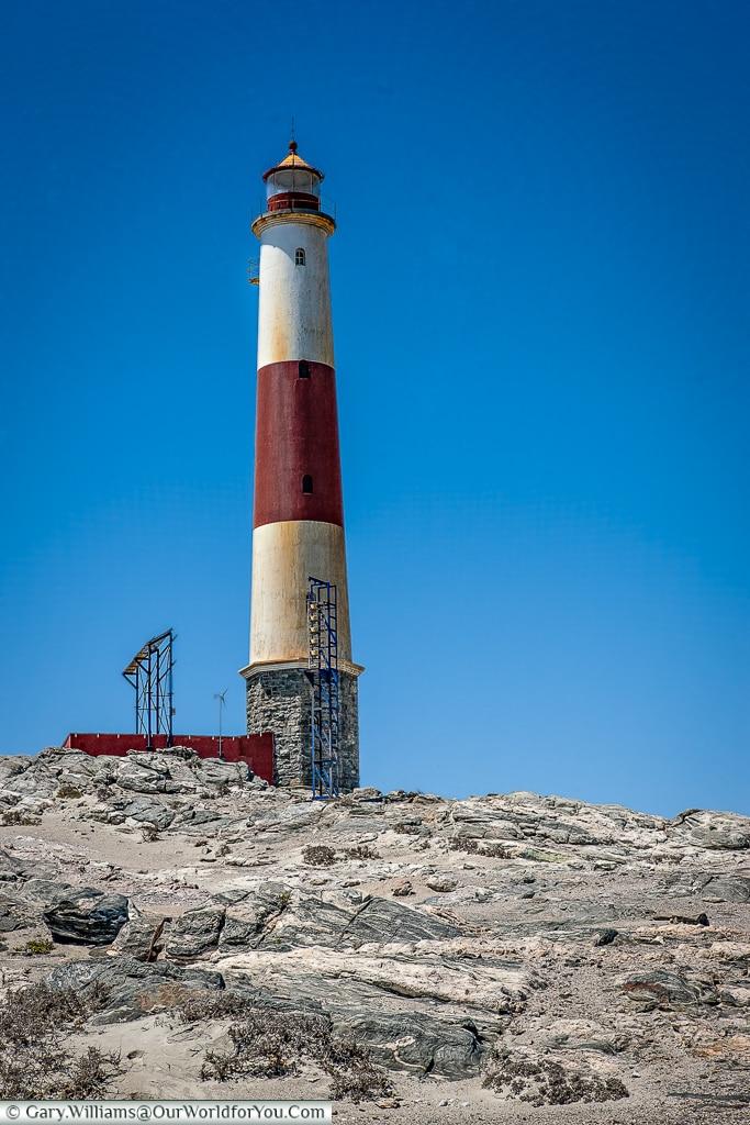 The lighthouse along the coast,Lüderitz, Namibia