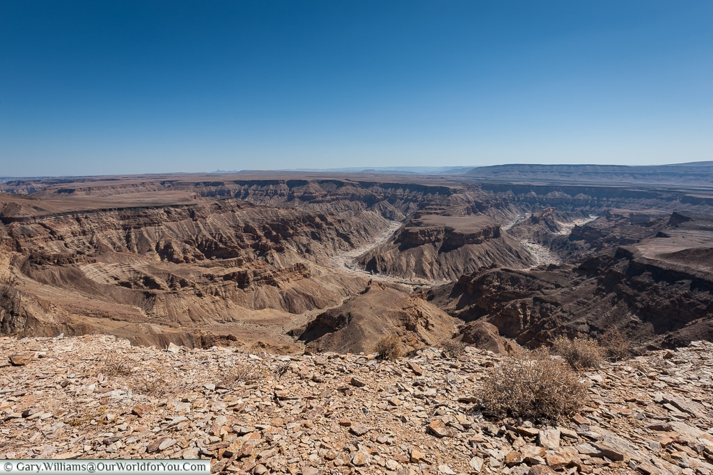 The view. Fish River Canyon, Namibia