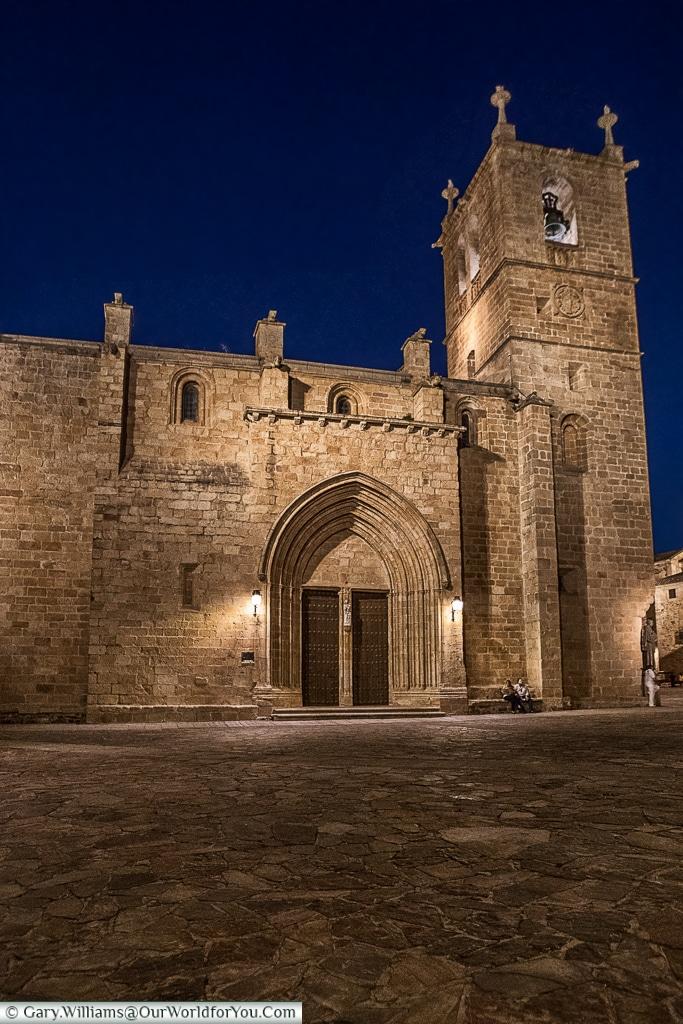 Cathedral Santa Maria, Cáceres, Spain