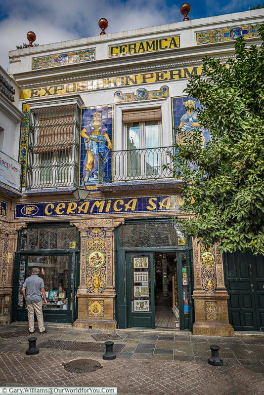 Ceramics & Triana go together, Seville, Spain