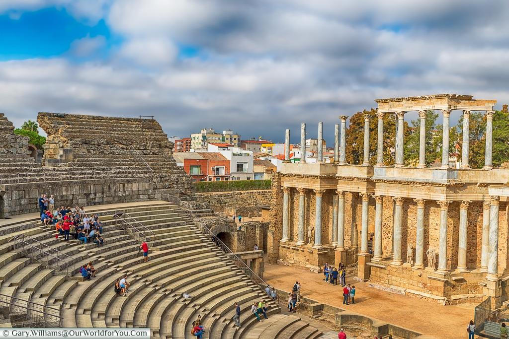 The Roman theatre, Mérida, Spain