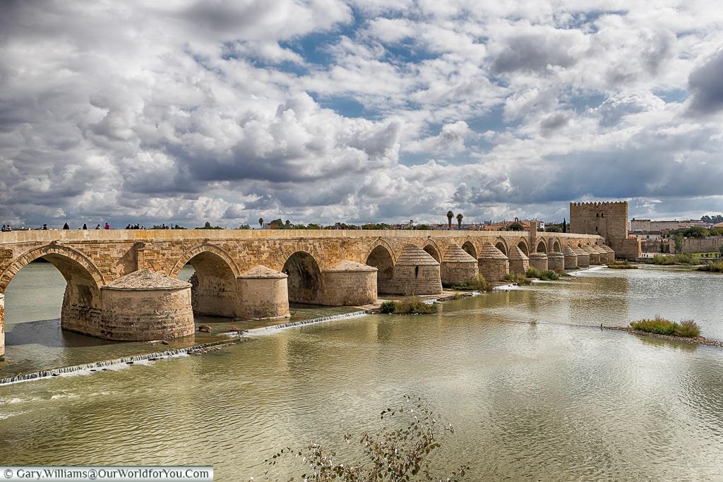 The Roman bridge of Córdoba, Spain