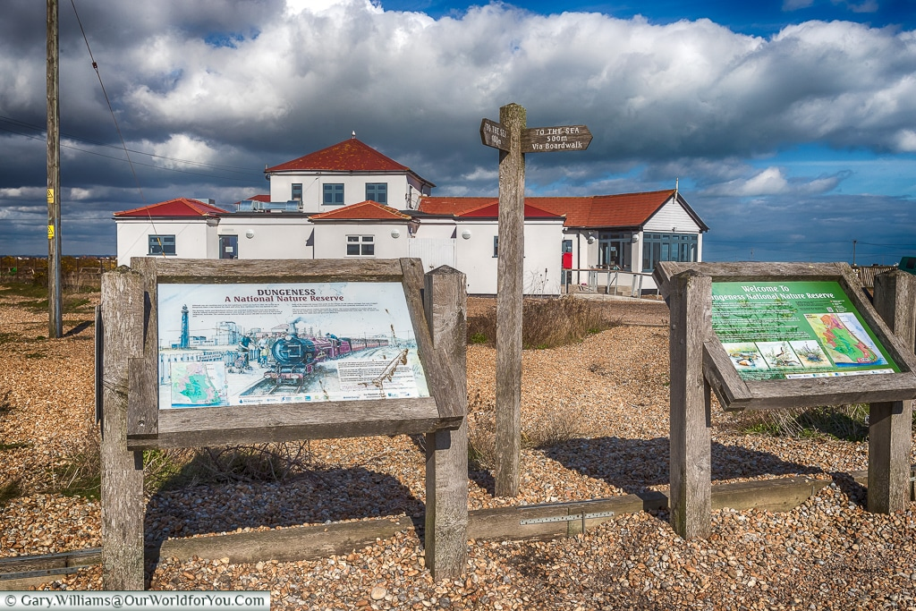 End of the line, Dungeness, Kent, UK