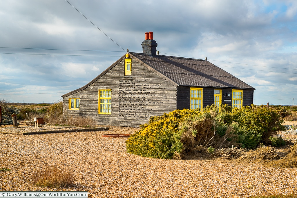 Prospect Cottage, Dungeness, Kent, UK