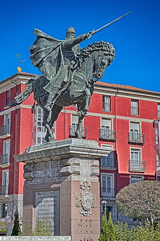 Statue to El Cid, Burgos, Spain
