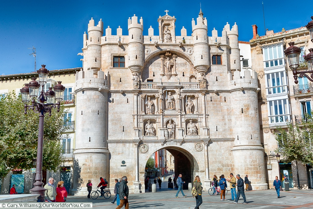 The Arco de Santa María, Burgos, Spain