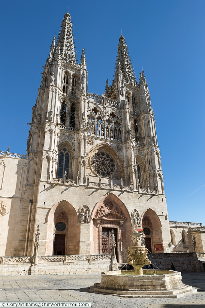 The Cathedral in Burgos, Spain