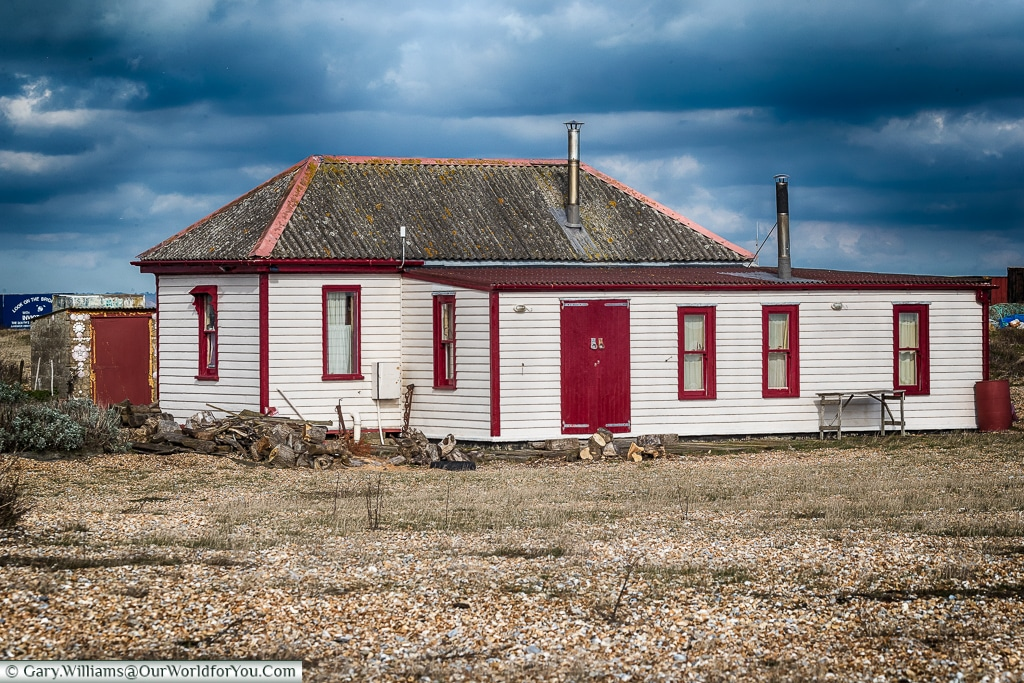 The old lifeboat house, Dungeness, Kent, UK