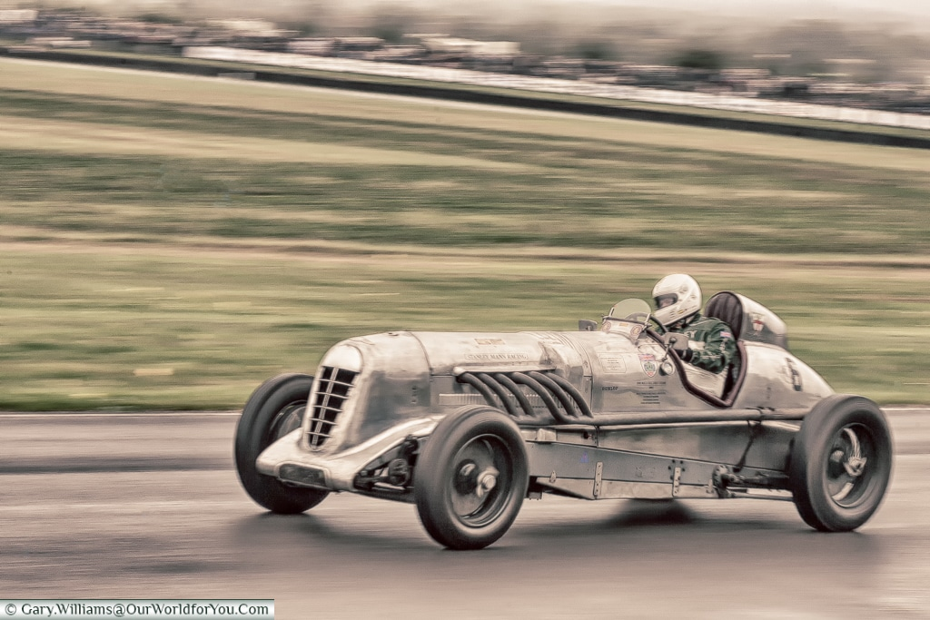 A Racing Monster, Goodwood Revival, UK