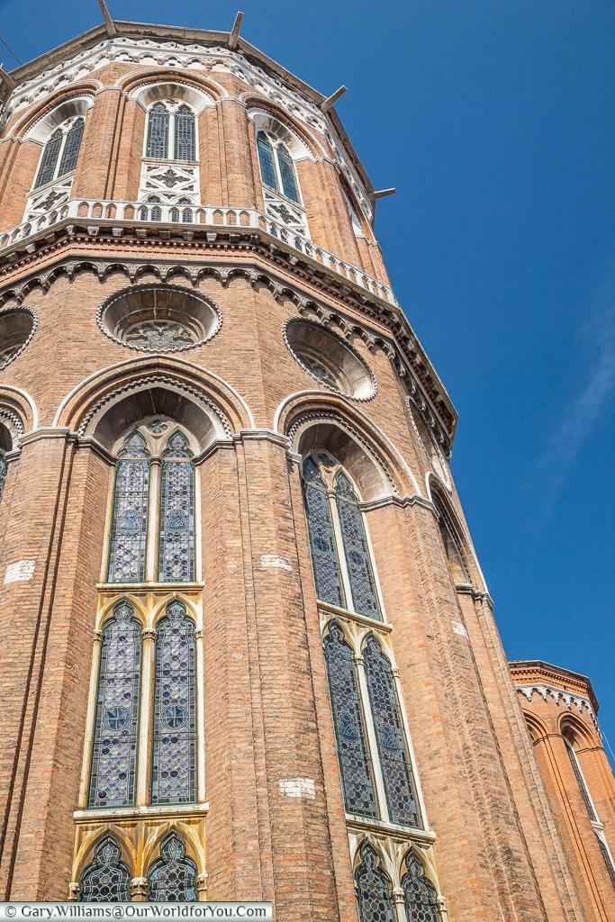 A view of Basilica dei Santi Giovanni e Paolo, Venice, Italy
