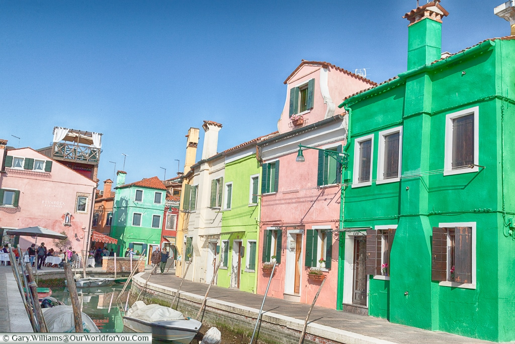Another quiet corner, Burano, Venice, Italy