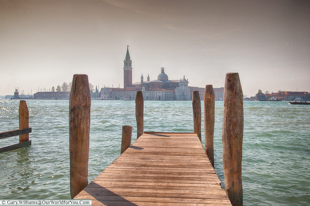 Built on wood - all of it, Venice, Italy