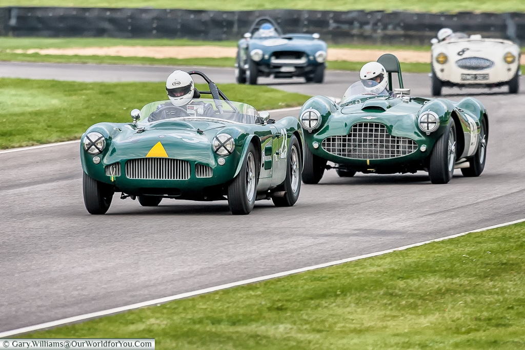 Classic sports cars, Goodwood Revival, UK