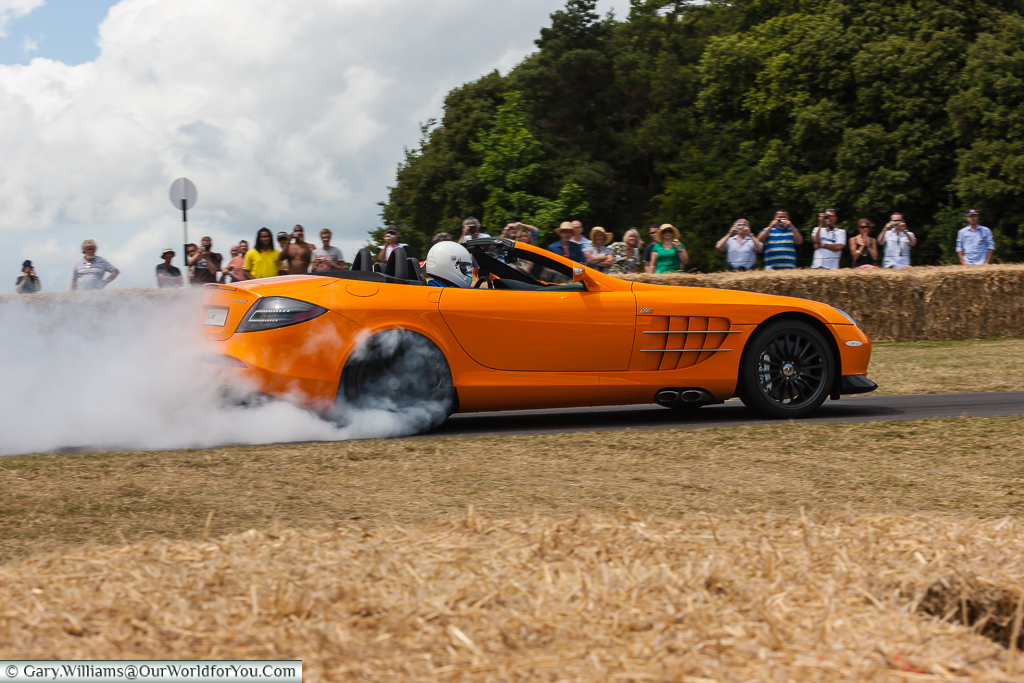 Givin it some beans, Goodwood, Festival of Speed, UK