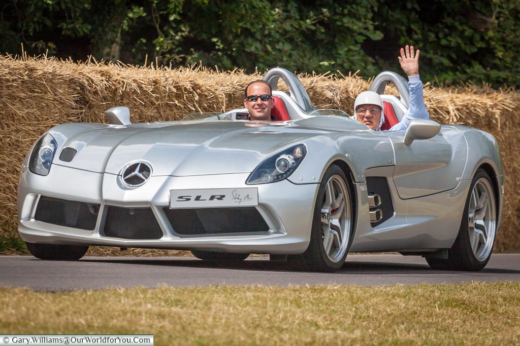 Sir Striling Moss, Goodwood, Festival of Speed, UK