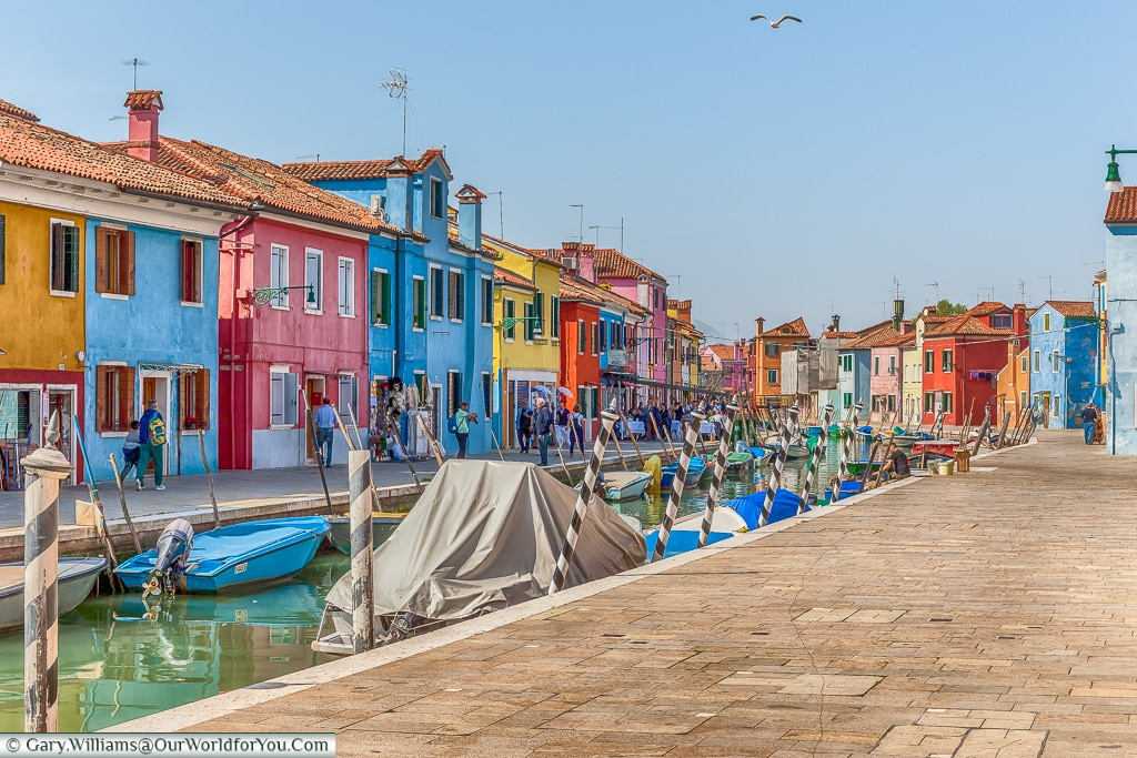 So brightly coloured, Burano, Venice, Italy