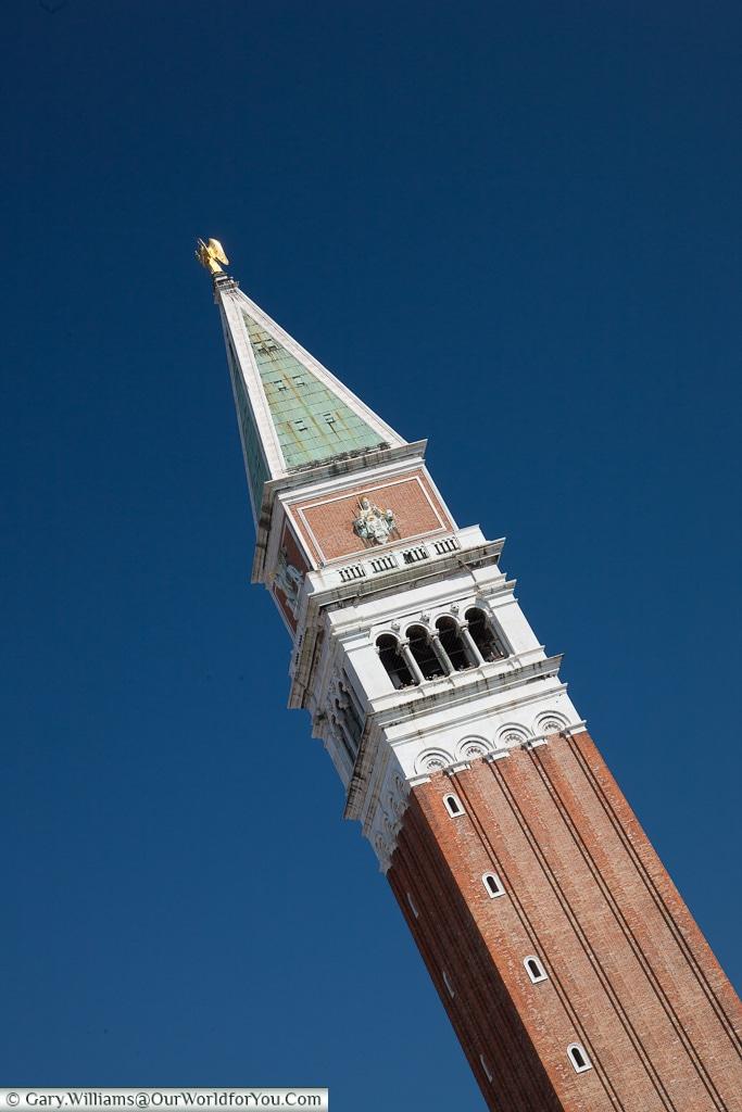 St Mark's Tower, Venice, Italy