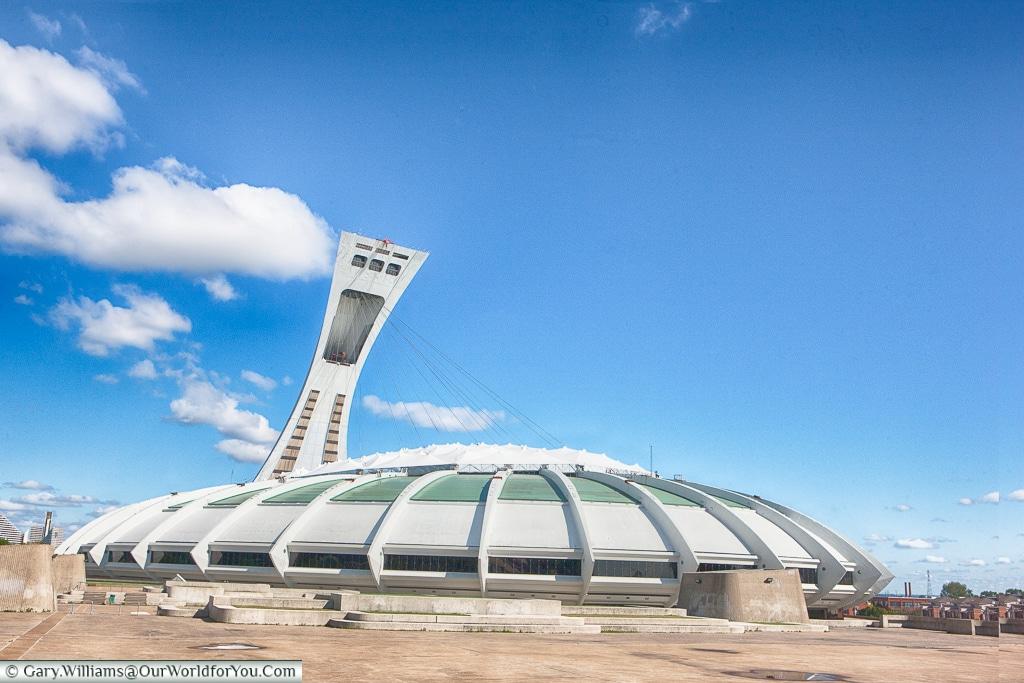 The Big O, Montréal Olympic park, Montréal, Canada