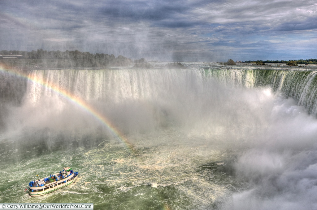 The Horseshoe Falls, Niagara Falls, Canada