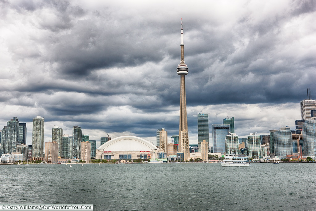 The Toronto skyline from the Water, Canada