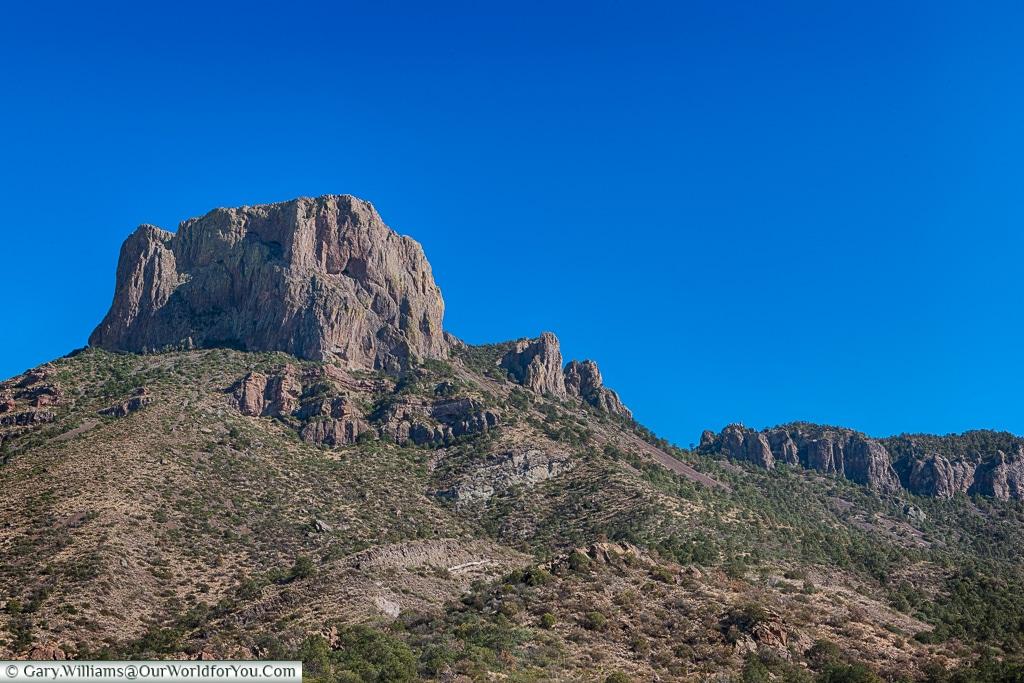 The rock face, Big Bend NP, Texas, USA