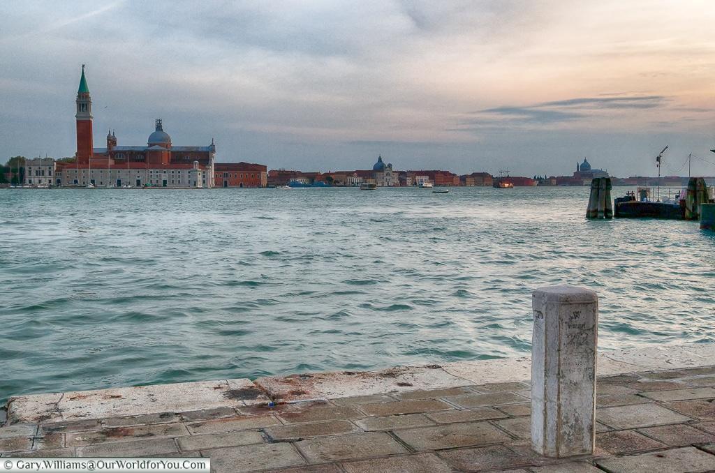 The view of San Giorgio Maggiore, Venice, Italy