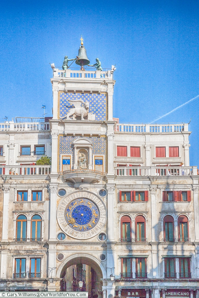 Torre dell'Orologio, Venice, Italy