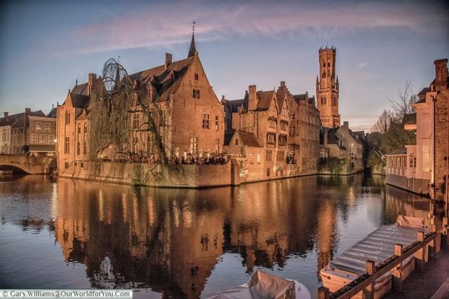 A classic view, Bruges, Belgium