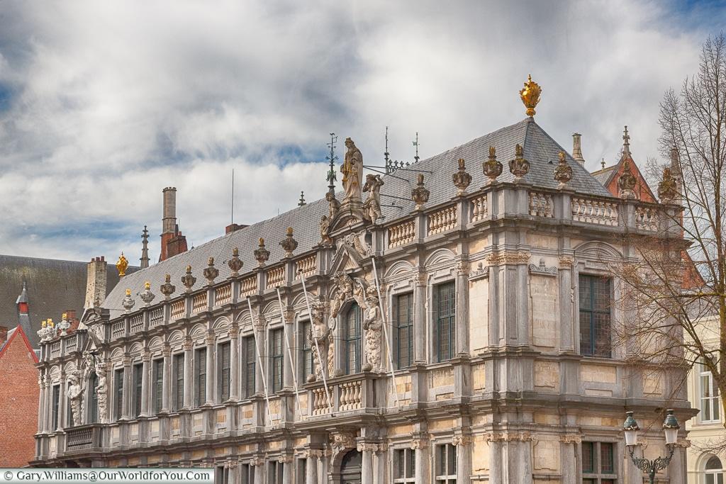 Classic style, Bruges, Belgium