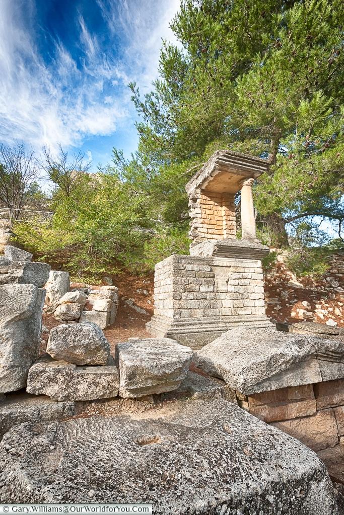 Detail everywhere, Glanum, Saint-Rémy-de-Provence, France
