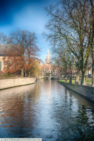 In the heart of the city, Bruges, Belgium
