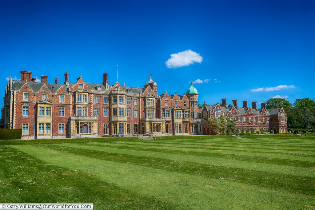 Sandringham House, Norfolk, England, Great Britain