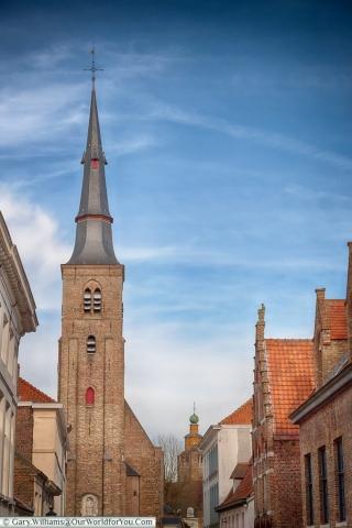 Sint-Annakerk, Bruges, Belgium