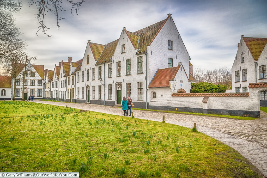 The Beguinage, Bruges, Belgium