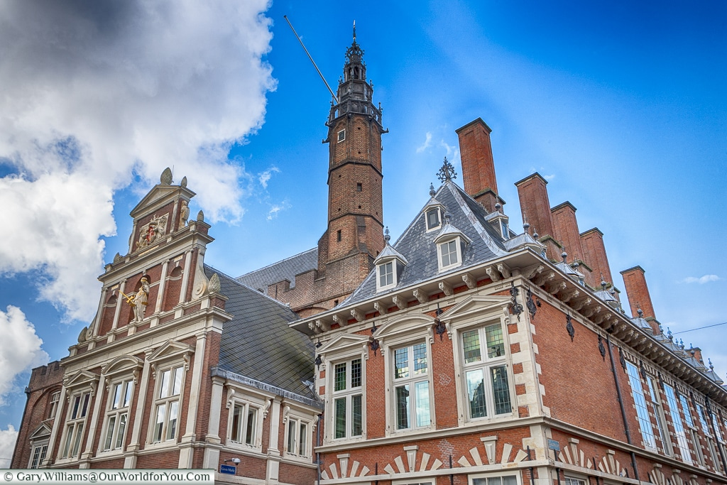 The City Hall and Court of Justice, Haarlem, Holland, Netherlands