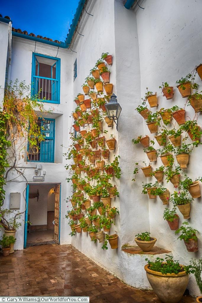 The Courtyard of the Cats, Palacio de Viana, Córdoba, Spain