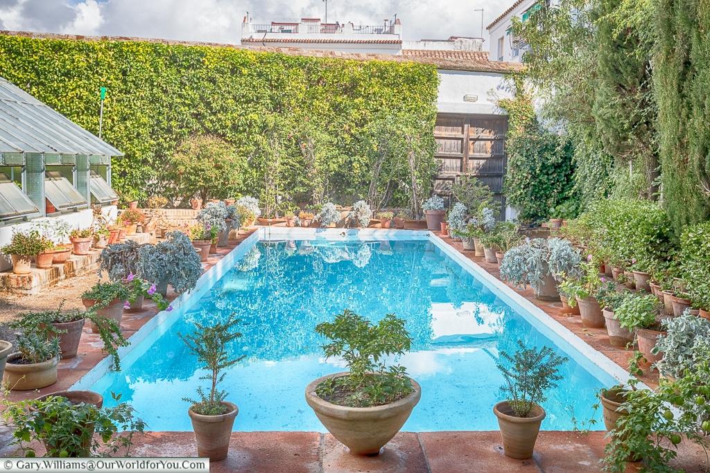 The Courtyard of the Pool, Palacio de Viana, Córdoba, Spain